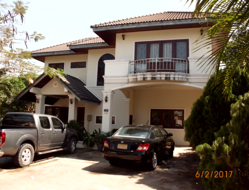 Residential Property in diplomatic area in Vientiane