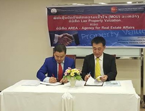 MOU with AREA- Agency for Real Estate Affairs, Dr.Sopon Pornchokchai